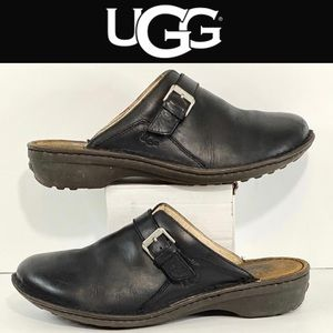 Ugg Leather Womens Mules